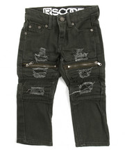 Arcade Styles - Ripped & Repaired Moto Jean (2T-4T)