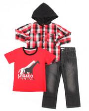 LRG - 3 Piece Woven Shirt Set (8-20)