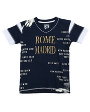 Tops - S/S Rome Madrid Tee (8-20)
