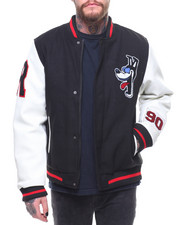Buyers Picks - Crazy Cartoon Varsity Jacket