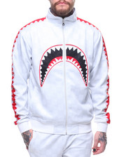 Track Jackets - SHARK MOUTH TRACK JACKET