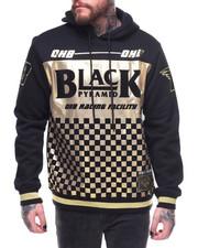 Black Pyramid - OHB GOLD CHECKER HOODIE