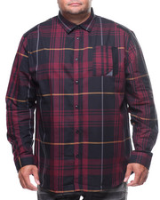 Big & Tall - L/S Plaid Woven (B&T)