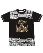 Tops - S/S Money Foil Tee (8-20)