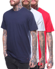 Tommy Hilfiger - Cotton Classics 3 Pack Crew Neck Shirts-2156316