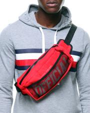 Men - Shoulder Bag Red