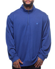 Big & Tall - L/S Advantage Quarter Zip Sweater (B&T)