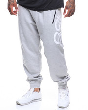 Sweatpants - French Terry Print Panel Jogger (B&T)