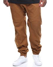 Pants - Solid Twill Stretch Joggers (B&T)