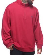 Pullover Sweatshirts - L/S Advantage Quarter Zip Sweater (B&T)