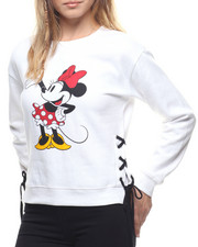 Graphix Gallery - Minnie Side Lace Up Sweatshirt
