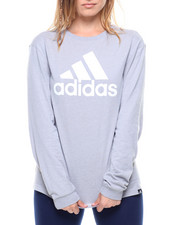 Adidas - L/S Badge Of Sport Classic Tee