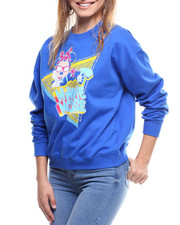 Women - Minnie Mouse Neon Crew Neck Sweatshirt