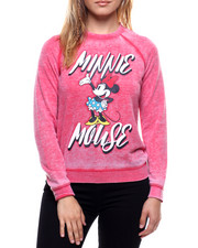 Women - Minnie Mouse Burnout Sweatshirt