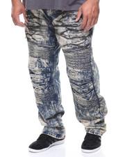 Men - Stretch Zipper Moto Denim Jean (B&T)