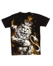 Boys - S/S Big Lion Cuts Tee (8-20)
