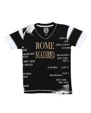 Boys - S/S Rome Madrid Tee (8-20)
