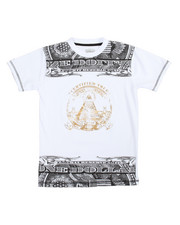 Boys - S/S Money Foil Tee (8-20)