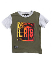 Tops - Tech Flag Tee (2T-4T))-2157333