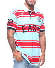 Big & Tall - S/S Sky Breeze Rugby Polo (B&T)