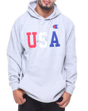 Big & Tall - L/S USA Fleece Hoodie (B&T)