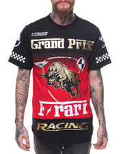 T-Shirts - GRAND PRIX SCALLOP SS TEE