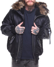 Buyers Picks - PARATROOP JACKET W FAUX FUR HOOD