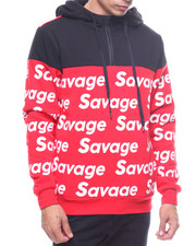 Buyers Picks - HALF ZIP SAVAGE HOODIE