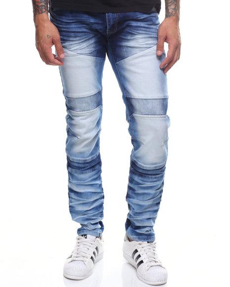 Copper Rivet - Multi Blue Jeans