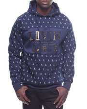 Buyers Picks - All Over Print Livin Large Pullover Hoodie