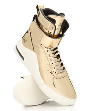 Radii Footwear - Apex Liquid Gold Metallic Sneakers