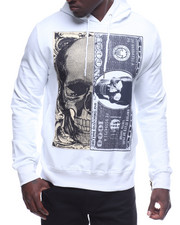 Hoodies - Skull Money Fleece Hoodie