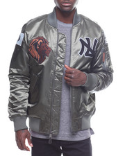 Outerwear - Patched Lions Bomber