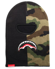 Sprayground - Split Camo Destroy Ski Mask