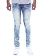Men - Pieced New Moto Jean