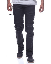 SMOKE RISE - BLOWN OUT KNEE MOTO JEAN