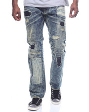 Jeans & Pants - PATCH WORK DISTRESSED JEAN