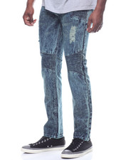 Straight - Moto Denim