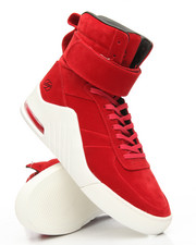 Sneakers - Apex Mars Red Pigskin Microfiber Sneakers