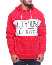 Hoodies - L/S Livin Large Fleece Hoodie (B&T)