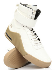 Radii Footwear - Apex Silk Pebble Leather Gum Sneakers
