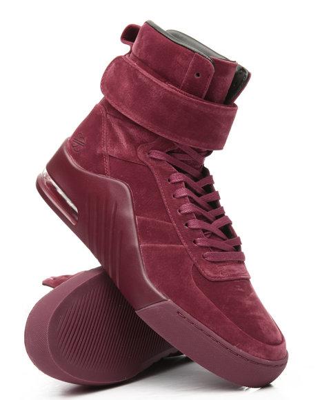 Radii Footwear - Apex Bordeaux Pigskin Microfiber Sneakers