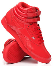 Women - Freestyle Hi Patent Sneakers