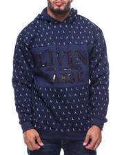 Hoodies - L/S Livin Large Fleece Hoodie (B&T)