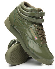 Reebok - Freestyle Hi Patent Sneakers