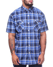 Enyce - S/S Plaid Woven (B&T)