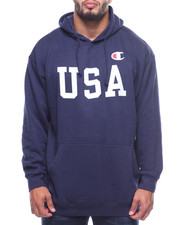 Champion - L/S USA Fleece Hoodie (B&T)