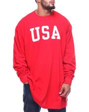 Champion - L/S USA Tee (B&T)