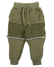 Sweatpants - Sweater Knit Fleece Jogger (2T-4T)