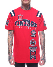 T-Shirts - VINTAGE AMERICANA ATHLETIC TEE